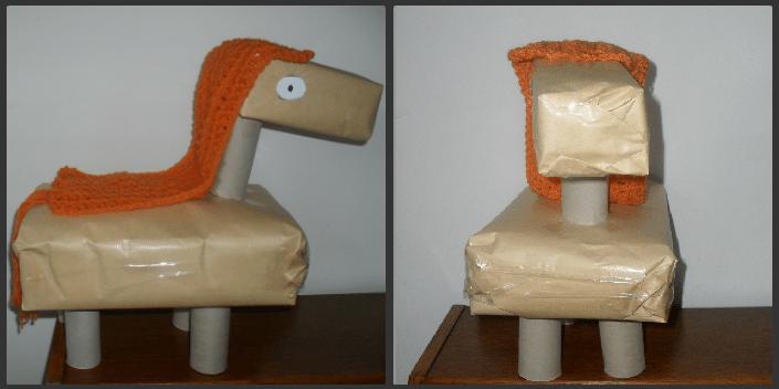 surprise paard