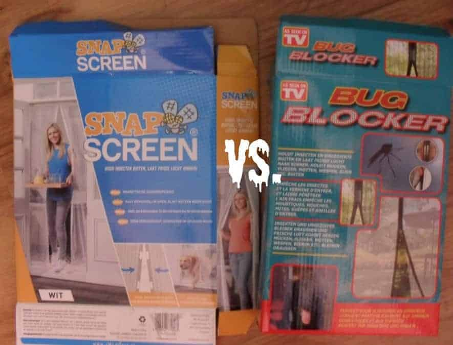 Review Eerst: Snap Screen versus Bug Blocker: vliegengordijn met ...