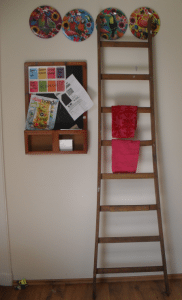 ladder in keuken