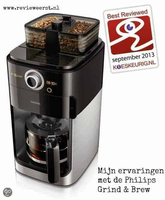 Philips Grind & Brew product review