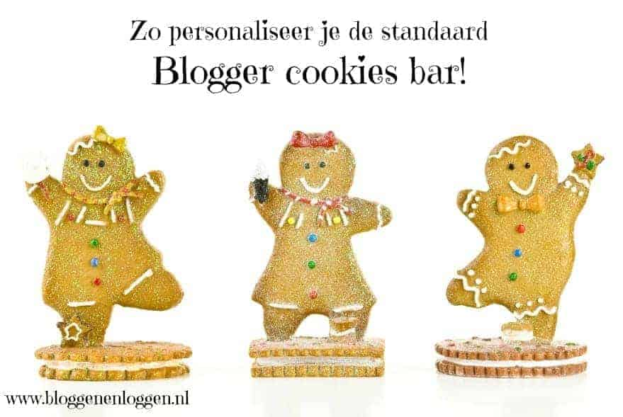 blogger cookies bar aanpassen