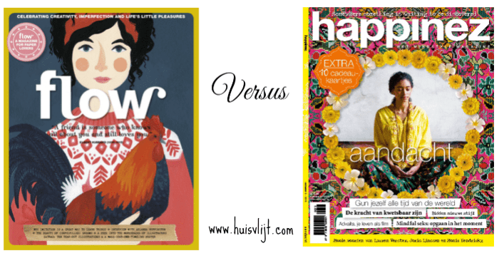 Flow versus Happinez