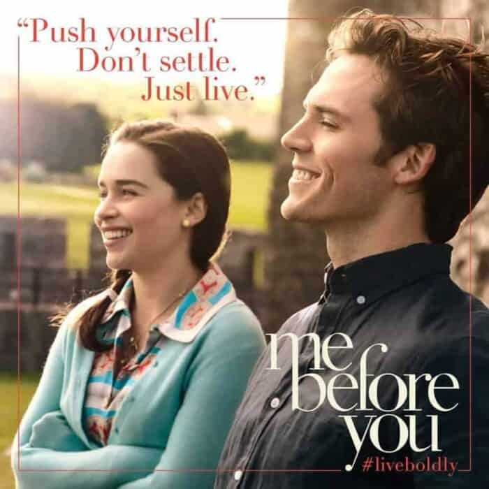 Me before you: Hmpf!
