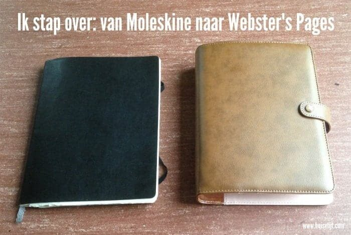 Van Moleskine naar Webster Pages