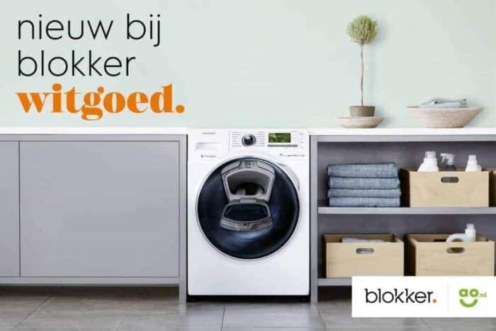 Wist jij dat je witgoed kunt kopen bij Blokker?