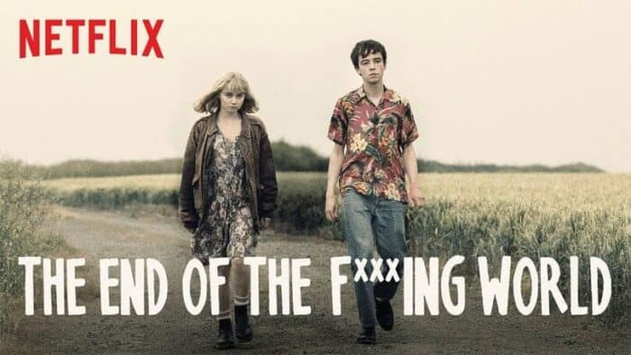 Nieuwe Netflix serie: The End of the Fucking World