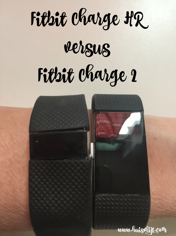 Fitbit Charge HR versus Fitbit Charge 2