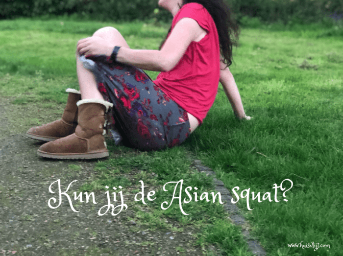 Kun jij dit? De Asian squat!