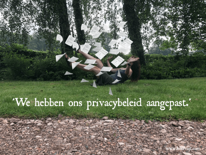 Lawine van mailtjes over privacy