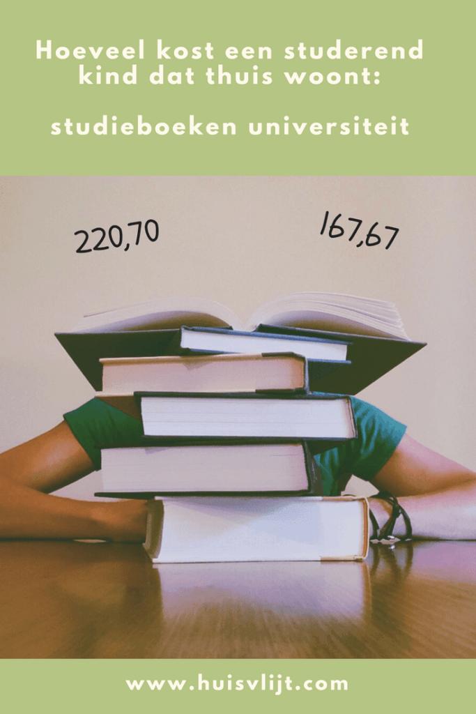Wat kost studeren? Opsomming kosten studie Engels in Utrecht.
