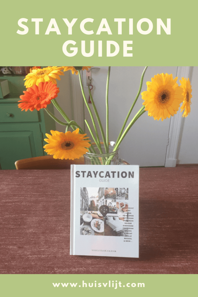 Staycation Guide van Anne de Buck: review