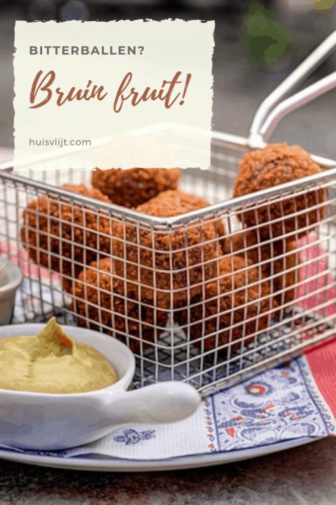 Bruin fruit
