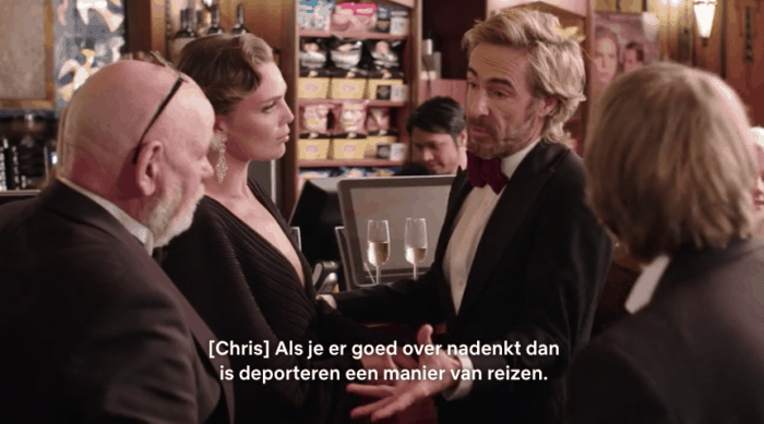 Chris Zegers in de serie Toon