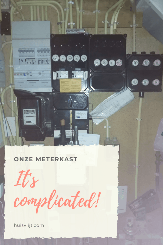 Groepenkast: it's complicated