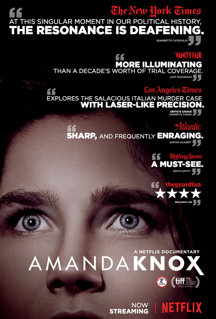 Netflix documentaire:  Amanda Knox – een review
