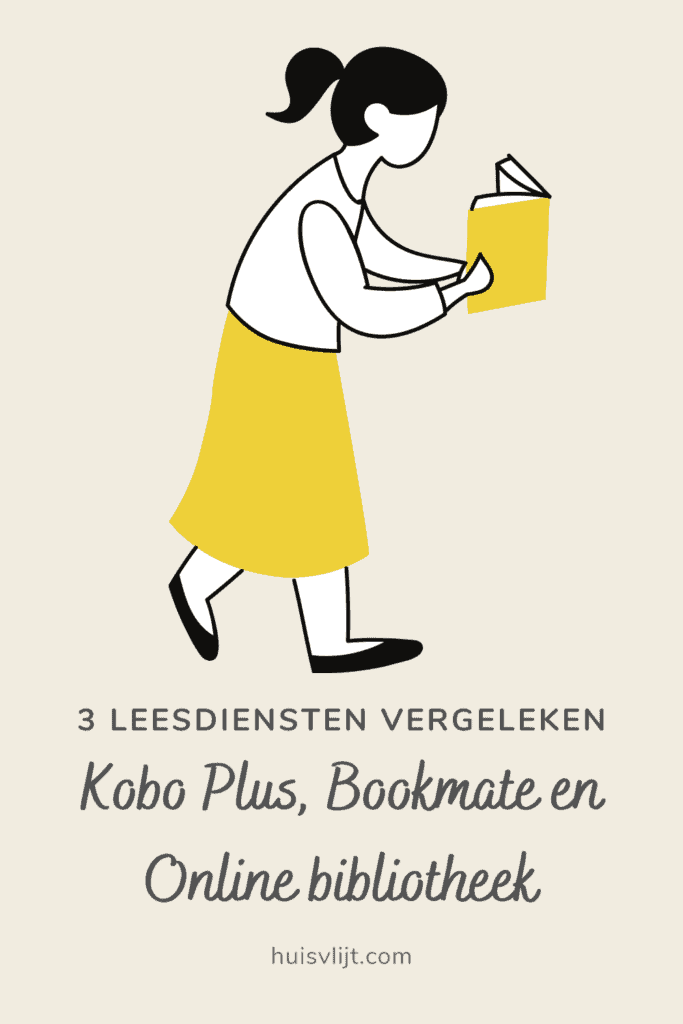 Kobo Plus of Bookmate? Consumentenbond test!