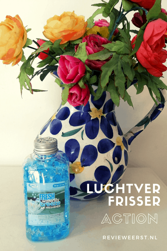 Luchtverfrisser Action: Fresh Waterlily breeze air freshener