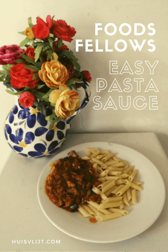 EASY Pasta Sauce van Food Fellows geprobeerd!